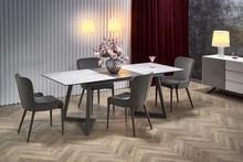 Stół rozkładany TIZIANO - jasny popiel/ciemny popiel