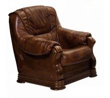 PROMOCJA - Fotel PARMA 1 - skóra naturalna
