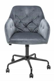 Fotel biurowy DUTCH COMFORT - szary