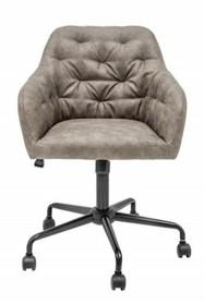 Fotel biurowy DUTCH COMFORT - ciemnoszary