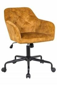 Fotel biurowy DUTCH COMFORT - zółty