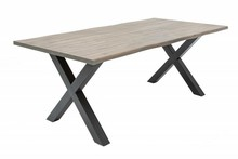 Stół GENESIS 160 cm - szary