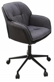 Krzesło biurowe LOUNGER - szary