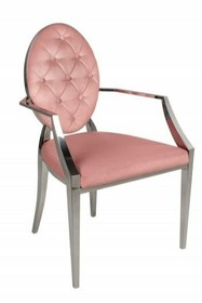 Krzesło MODERN BAROCK - różowy